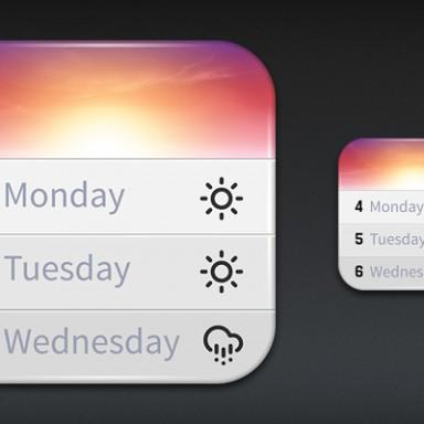 Horizon Calendar for iOS