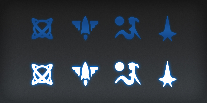 Astronut Icons