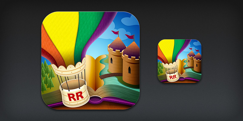 Reading Rainbow iOS App Icon