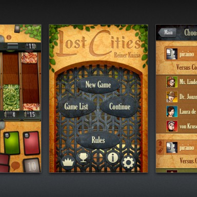 Lost Cities for  iOS