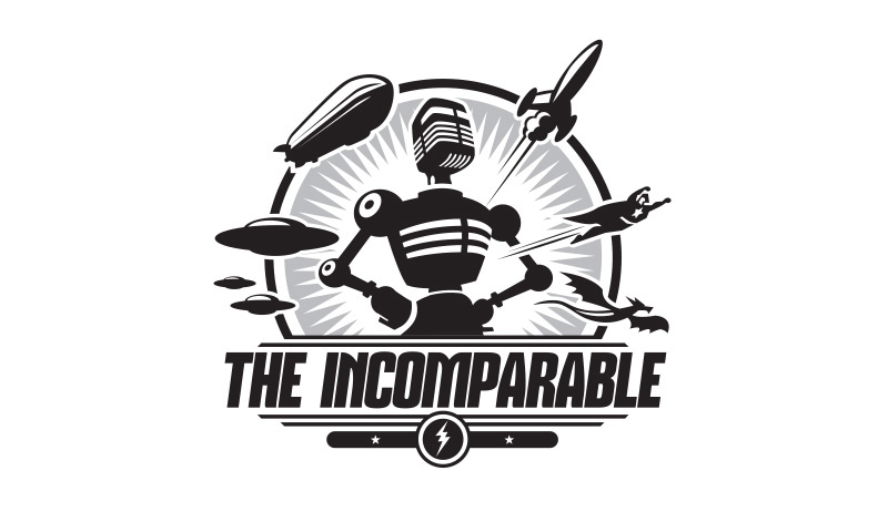 "Logo design for ""The Incomparable"""