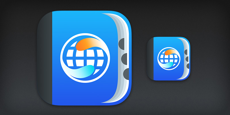 Dictionary iOS 7 app icon