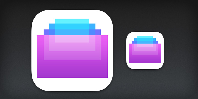 Screens iOS 7 app icon