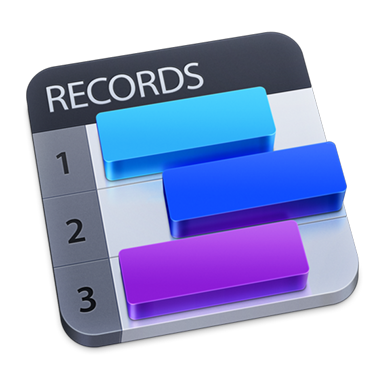 Records for Mac OS X