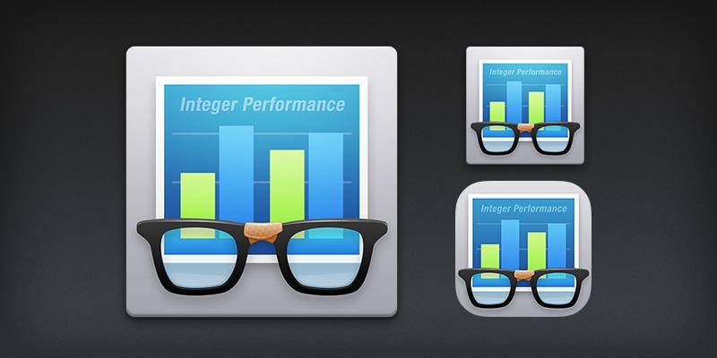 App icon for PrimateLab's Geekbench