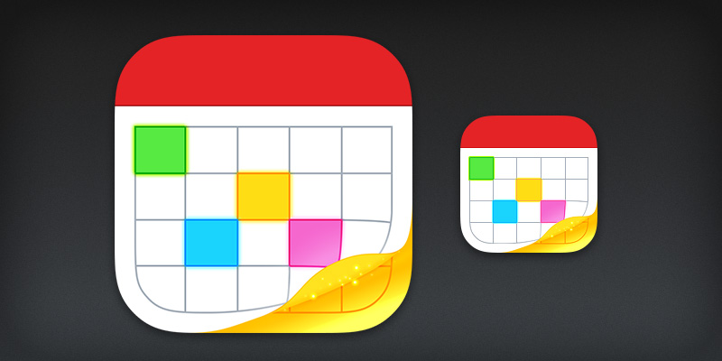 Fantastical 2 iOS 7 App Icon