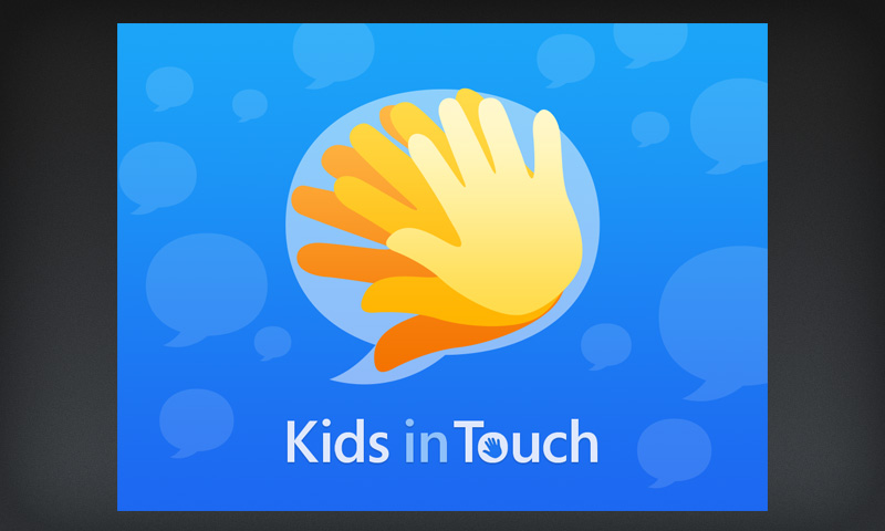 Kids In Touch Logo and Splash Screen