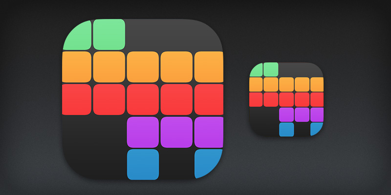 iOS Matrix App Icon