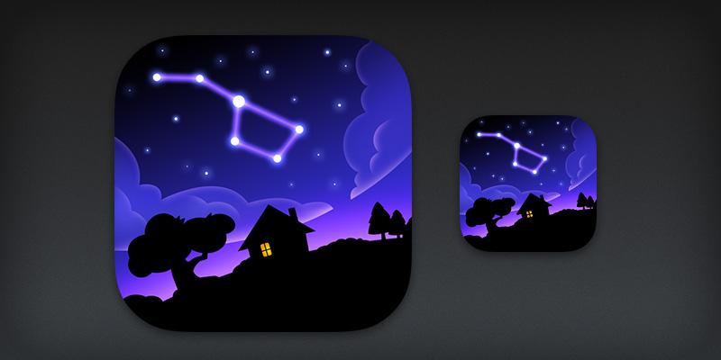 SkyView for iOS App Icon