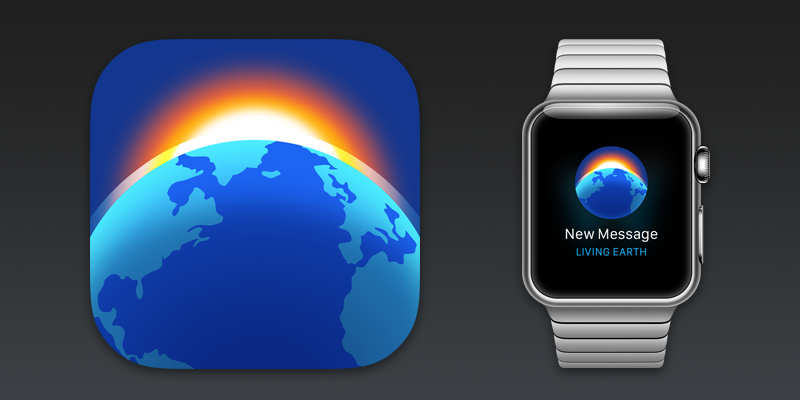 Living Earth iOS App Icon