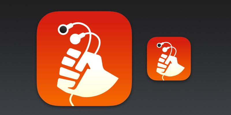 PodGrasp App Icon for iOS