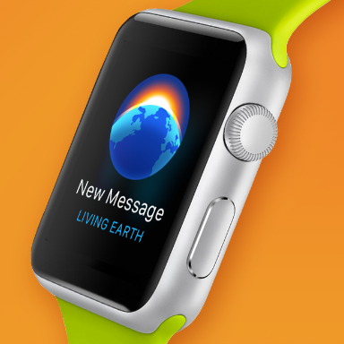 Living Earth for iOS 8 & Apple Watch