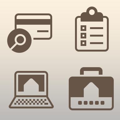 Rentify Website Iconography