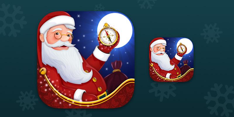 Santa Tracker app icon