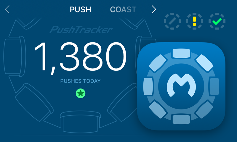 PushTracker Icon