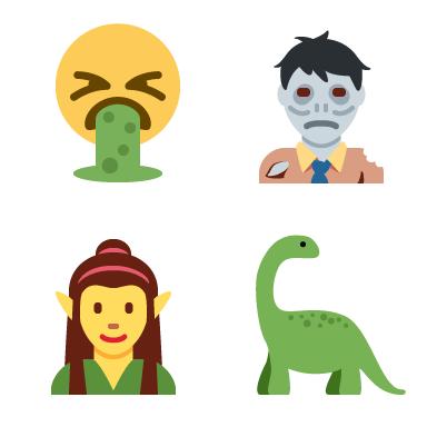 Twitter Unicode 10 Emoji