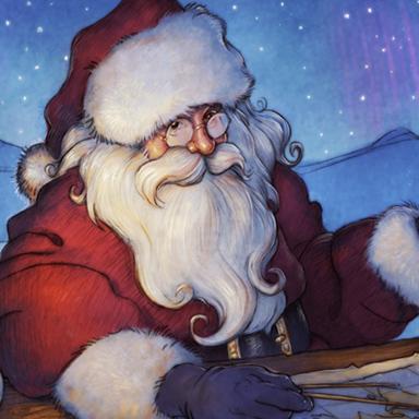 Santa Tracker App Store Promo Art