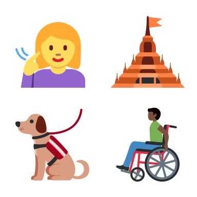 Twitter Unicode 12 Emoji